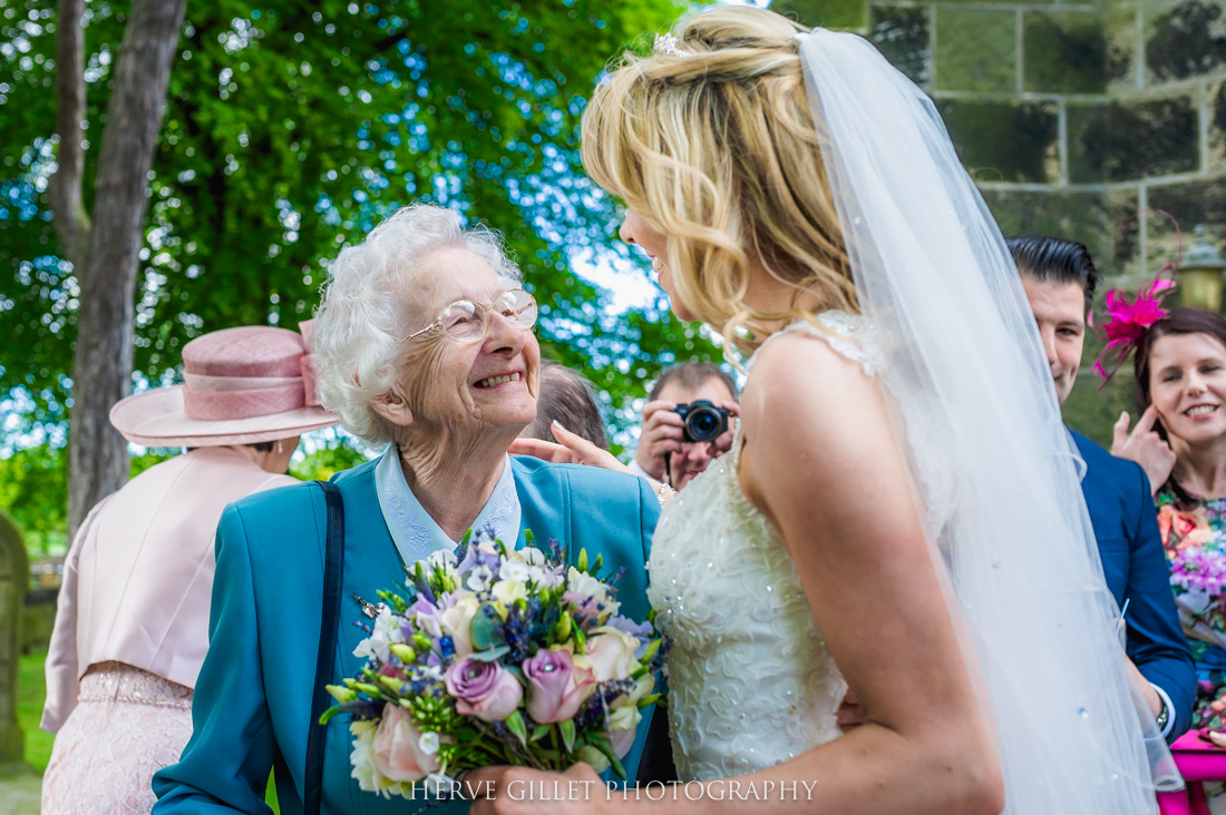 granny with bride