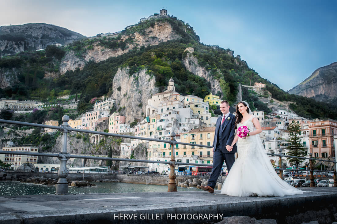 Amalfi Coast Wedding Photographer Herve Photography