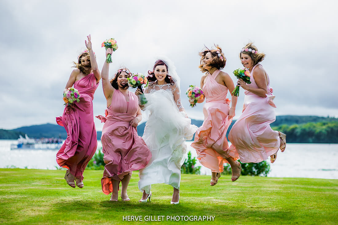 Bride And Bridemaids Wedding Photography Herve Photography
