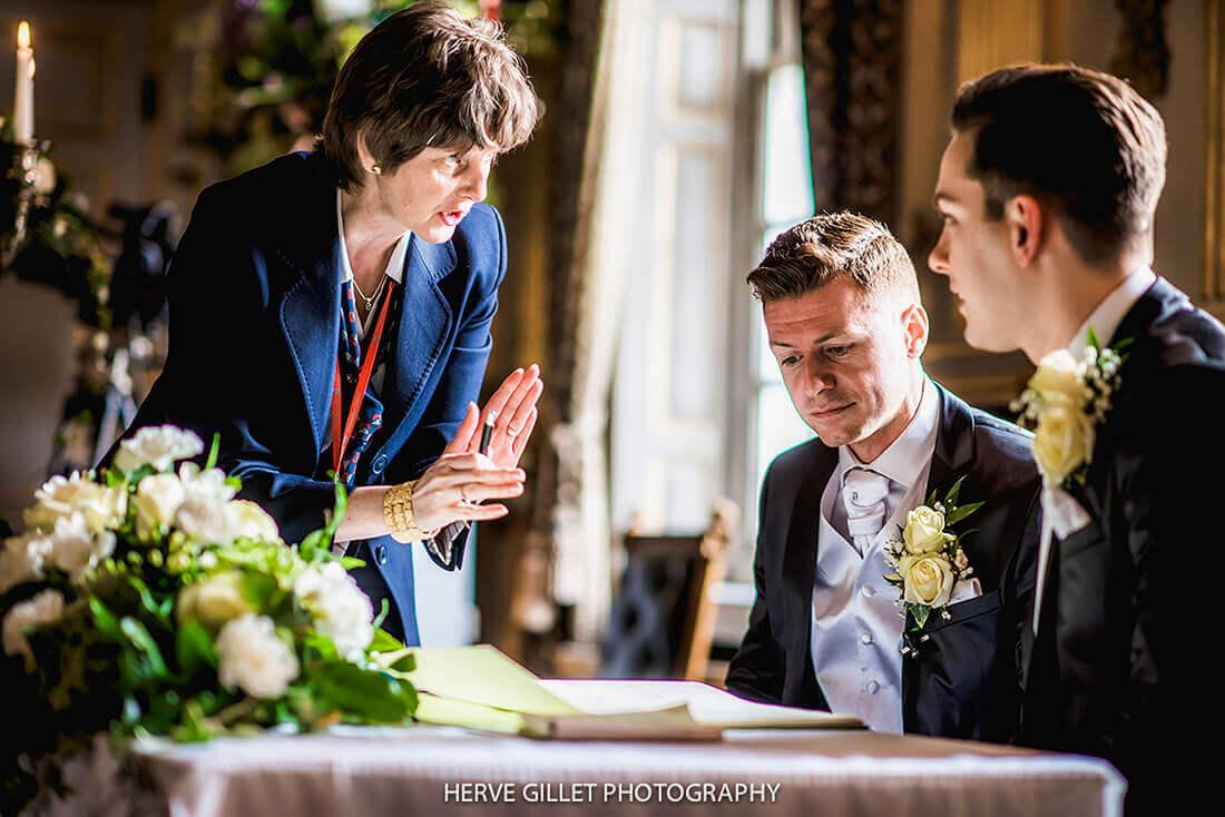 Civil Ceremony Wedding Photography Herve Photography
