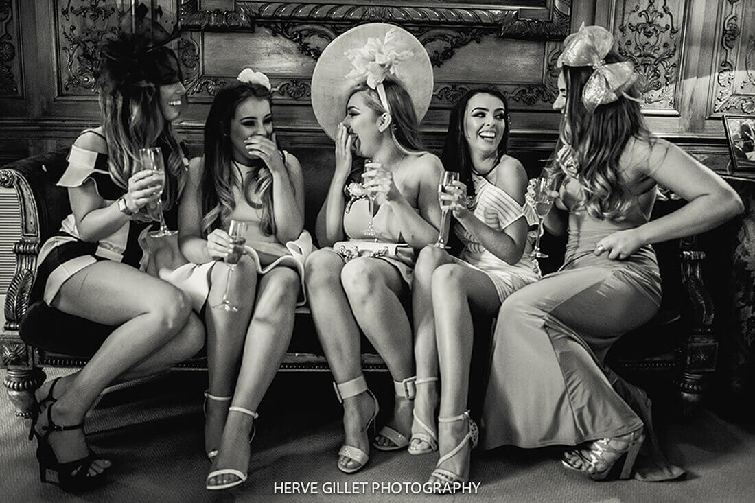 Girls Laughing Wedding Photography Herve Photography
