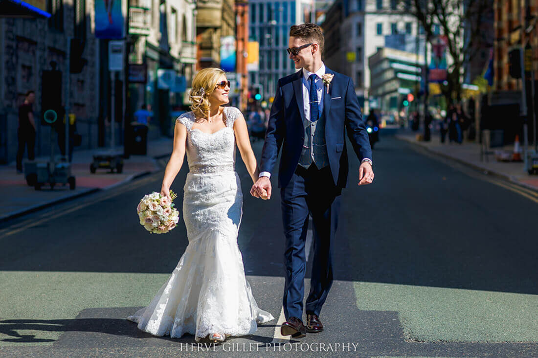 Manchester Street Wedding Photography Herve Photography
