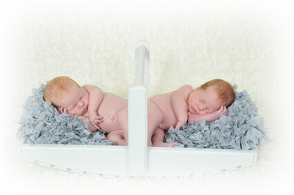 New Born Baby Twins Herve Photography