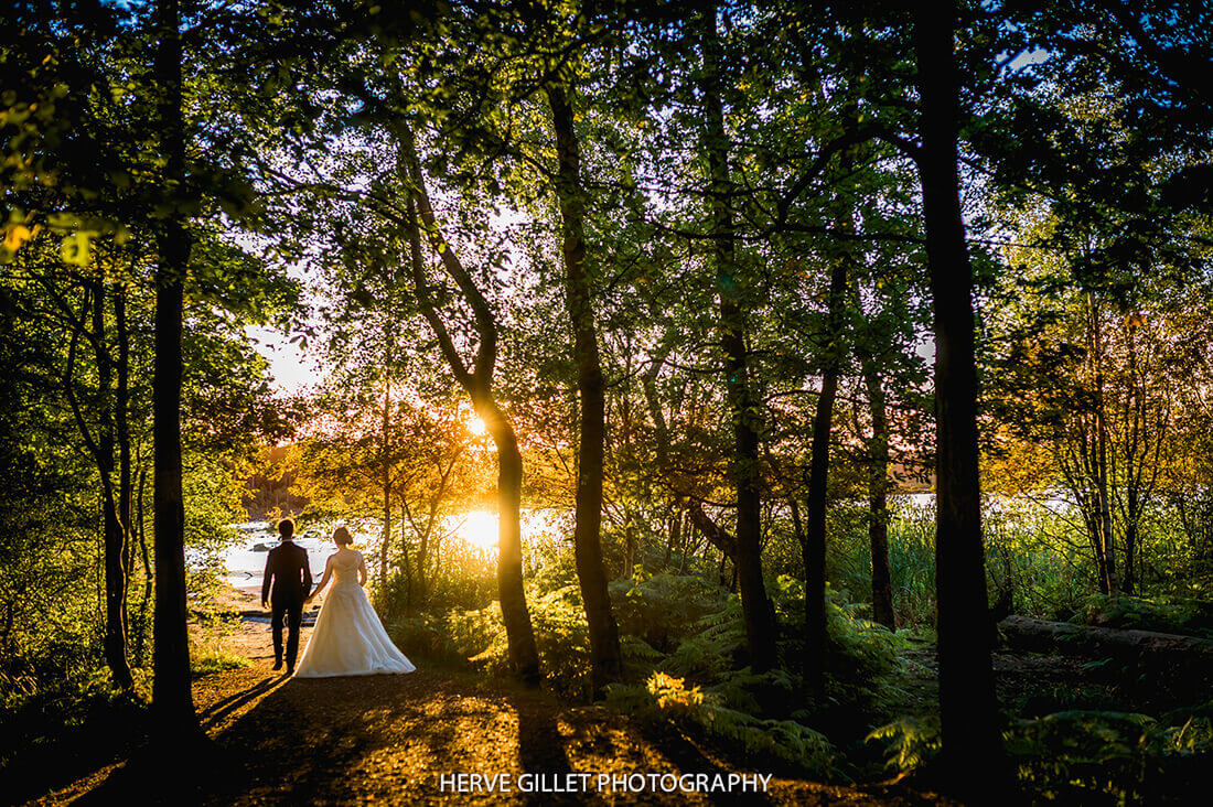 Sunset Delamere Forest Wedding Photography Herve Photography