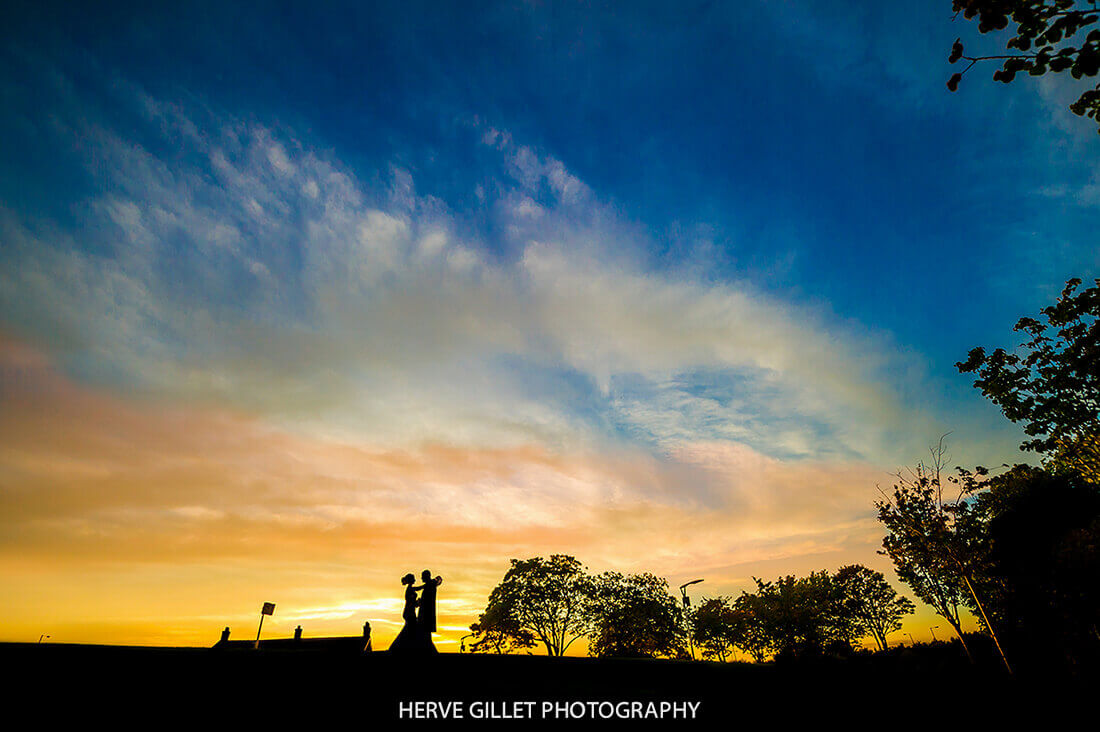 Sunset Wedding Photography Herve Photography