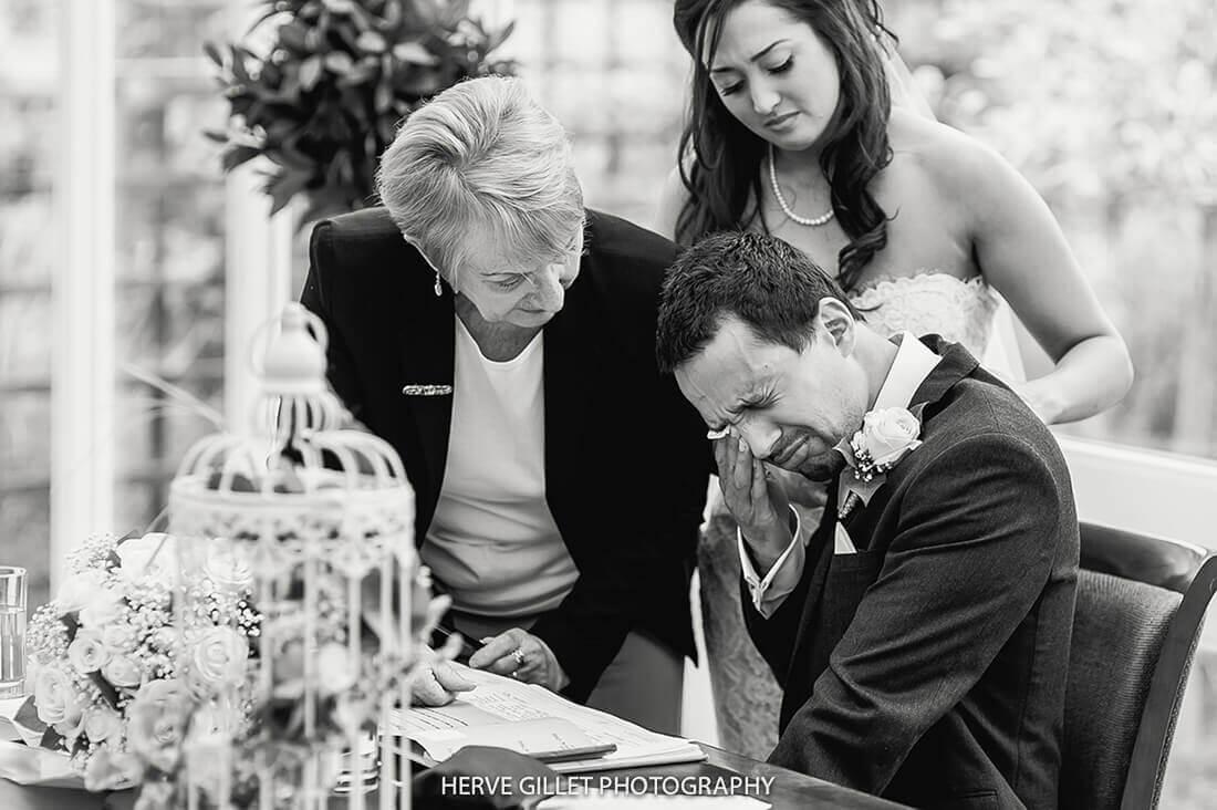 Upset Groom Wedding Photography Herve Photography