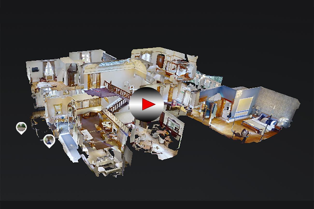 3D virtual tour west tower photography