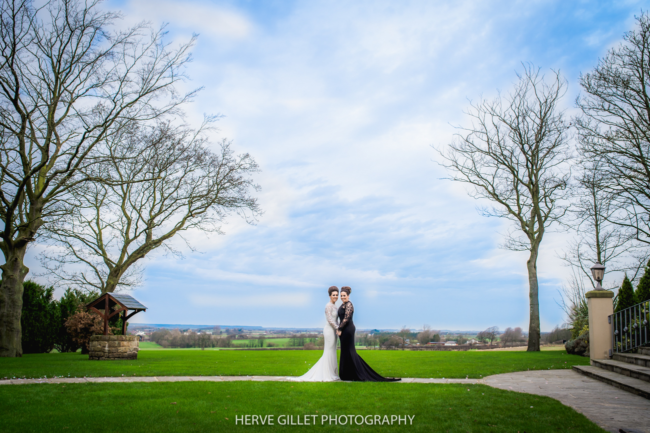GLTB wedding photograph at the West Tower